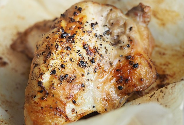Roasted Chicken Breast helps carve off the pounds faster than fatty steak