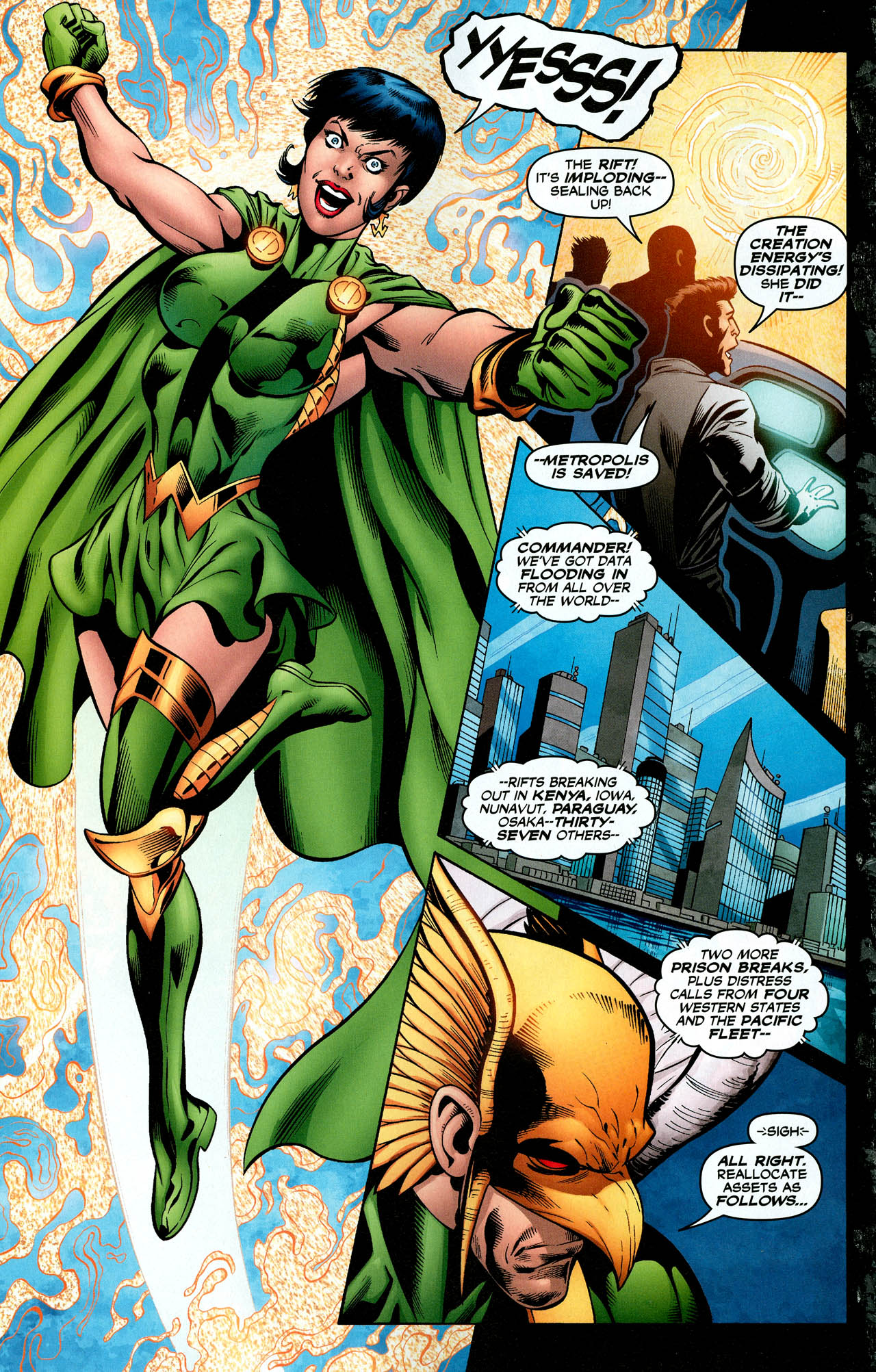 Read online Trinity (2008) comic -  Issue #29 - 30