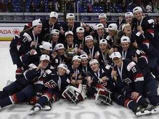 HOCKEY HIELO - Mundial femenino 2017 (Plymouth, Estados Unidos): En la OT llegó el cuarto título consecutivo para Estados Unidos