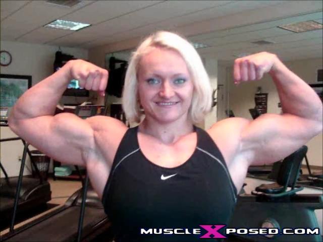 Female Bodybuilder Brigita Brezovac