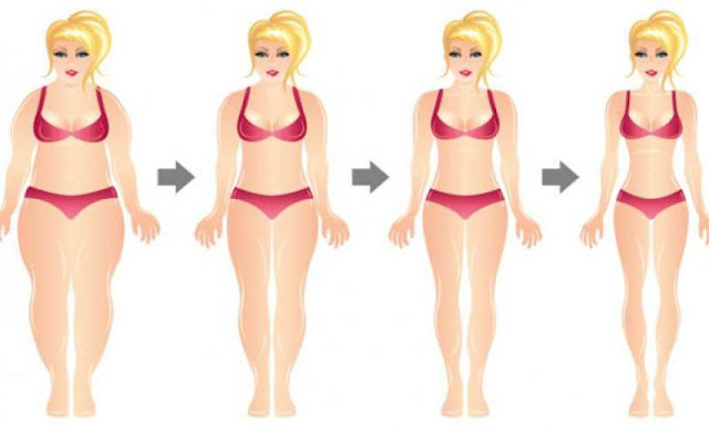 Diet for downloading the fat from the abdomen