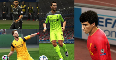 PES 2013 Liverpool FC 2016 -17 GDB by Vulcanzero