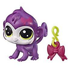 Littlest Pet Shop Series 5 Lucky Pets Fortune Cookie Monkey (#No#) Pet