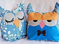 Cara Membuat Boneka Owl dari Kain Perca