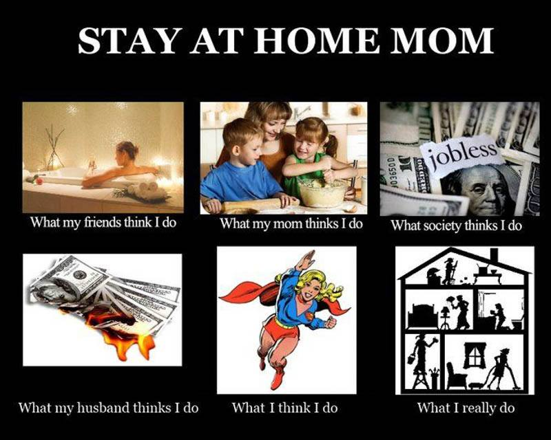 The Mommywarrior77 Blog Stay At Home Moms I Salute You