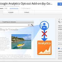 Filter data pageviews dengan Google Analytics Opt-out