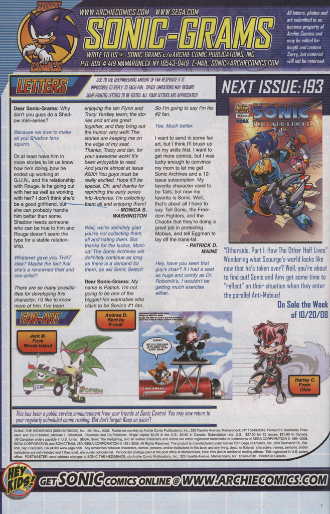 Read online Sonic The Hedgehog comic -  Issue #192 - 27