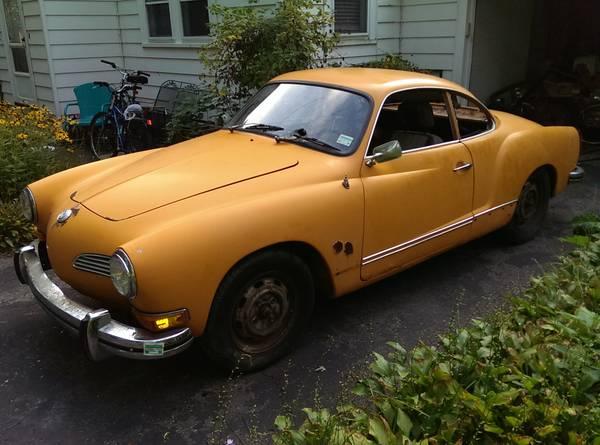 Restoration Project Cars: 1972 Karmann Ghia Project