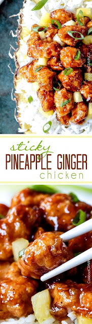 Sticky Pineapple Gingger Chicken