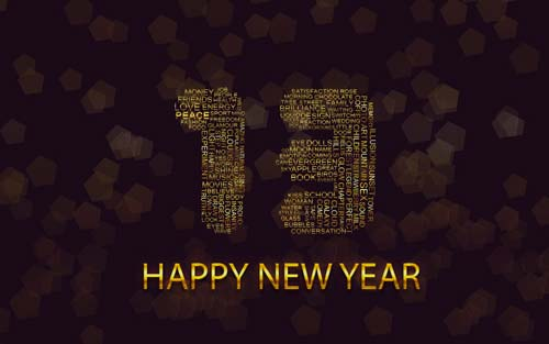 20+ HD Happy New Year 2013 Wallpapers