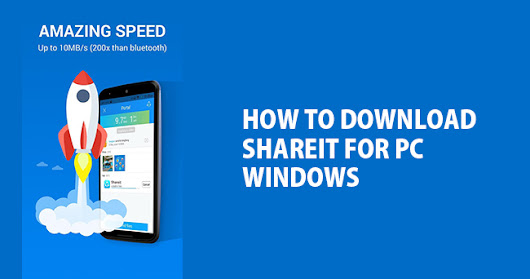 SHAREit For PC download for Windows XP /Vista /7 /8 /8.1 /10