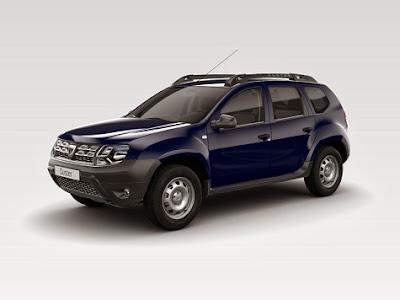 Nuevo Dacia Duster azul marino