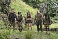 Jumanji: Welcome to the Jungle Jack Black, Nick Jonas, Kevin Hart, Dwayne Johnson and Karen Gillan Image 3 (10)