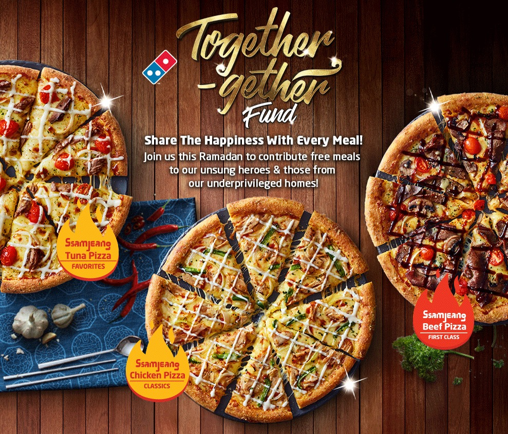 [Event] Domino's Launches Together-gether Fund In Honour of Unsung Heroes