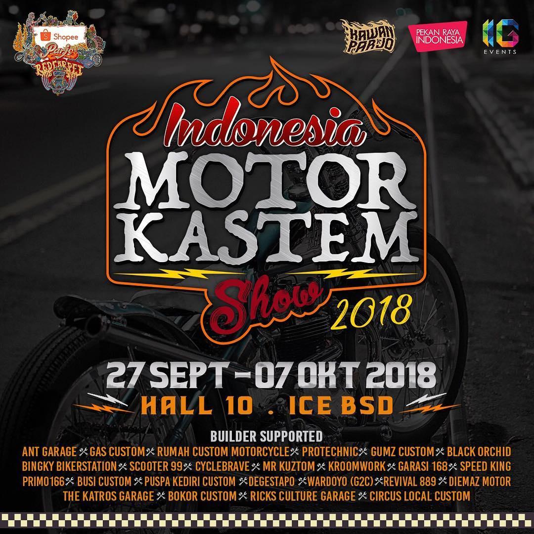 Parjo ID - Indonesia Motor Kastem Show #1