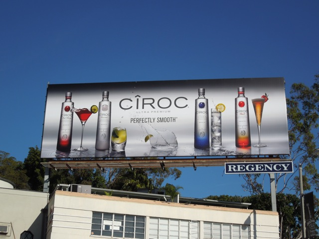 Ciroc Vodka cocktail billboard