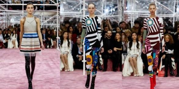 d03654255441 L Alta moda primavera estate 2015 è stata inaugurata ieri sera con la  sfilata di Versace
