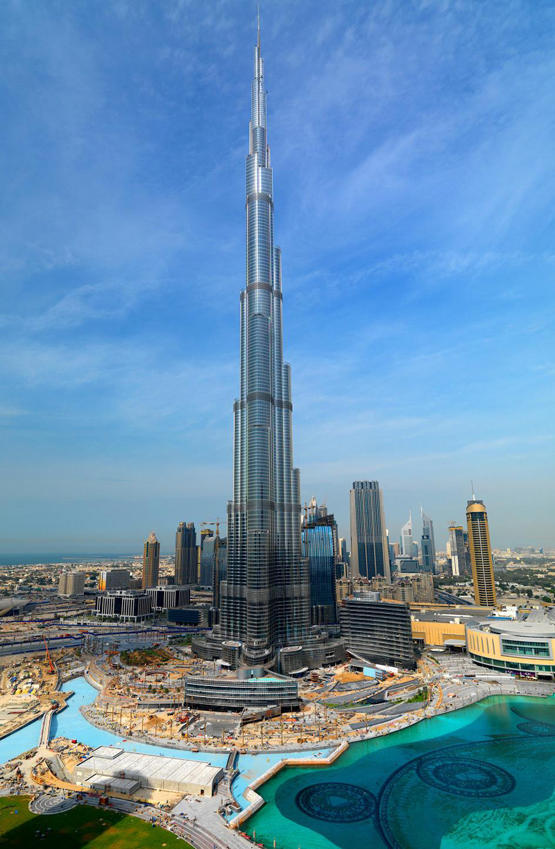 Interesting Places To Go: Burj Dubai Tower - A Stunning Masterpiece