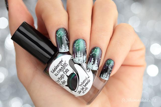 Aurora Nails (luminous stamping), El corazon,  スタンピングネイル, ネイルスタンプ