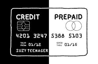 Credit Prepaid Card Hybrid