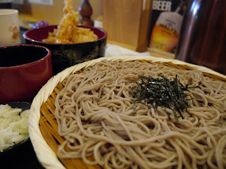 Japanese noodle soba