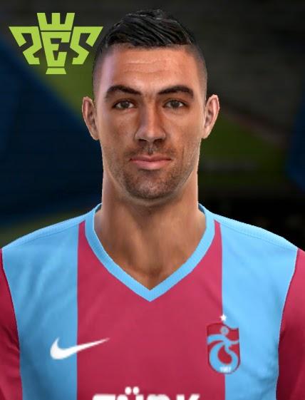 Pes 2013 Belkalem Face New Trabzonspor Player Wave Pes