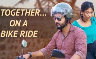 Thiru and Anandhi's first bike ride together | Thiru & Anandhi