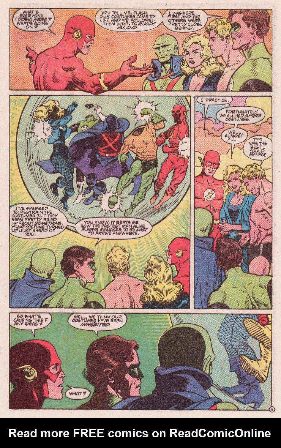 Read online Secret Origins (1986) comic -  Issue #46 - 6