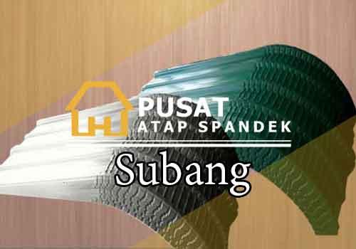 Harga Atap Spandek Lengkung Subang