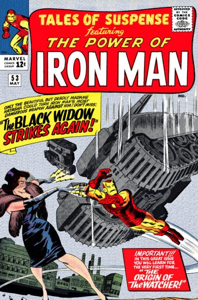 Tales of Suspense #53, Iron Man and the Black Widow