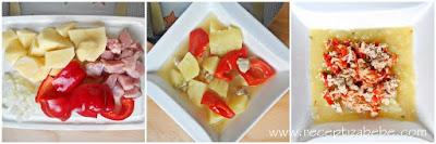 Kasica od paprike, teletine i krompira
