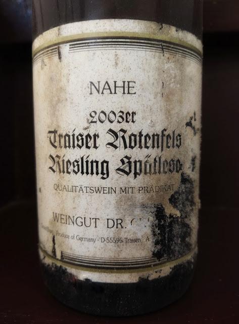 Traiser Rotenfels Spätlese von Winzer Dr. Peter Crusius