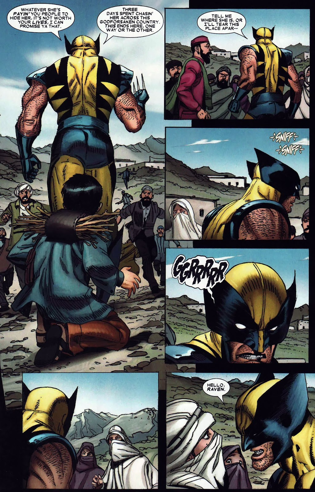 Read online Wolverine (2003) comic -  Issue #62 - 9