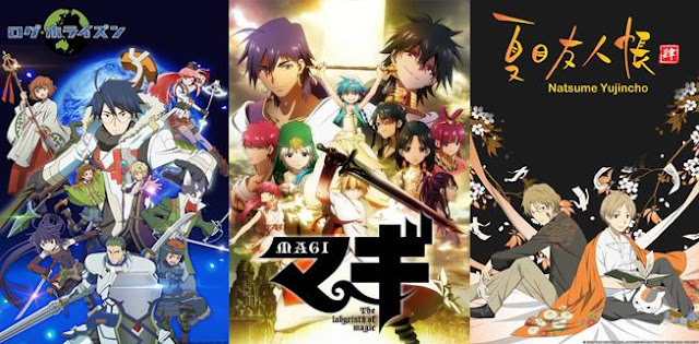22 Rekomendasi Anime Fantasy terkeren Terbaik Sepanjang Masa yang Dipenuhi Karakter Superpower