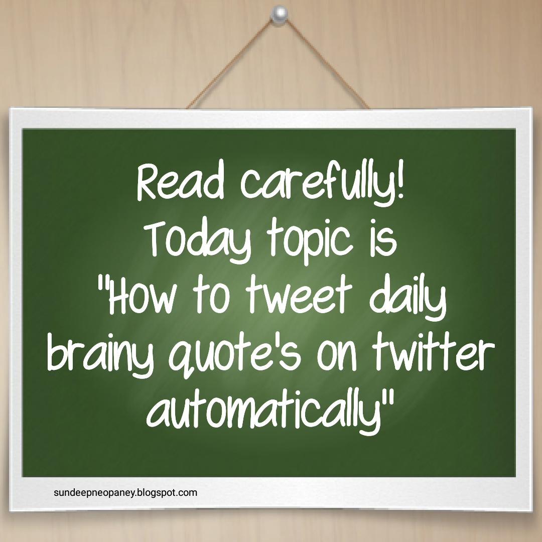 auto-tweet