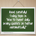 How to tweet daily brainy quote's on twitter automatically