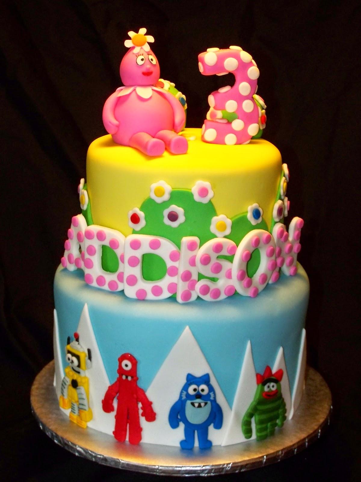 Cakes By Kristen H Yo Gabba Gabba Cake