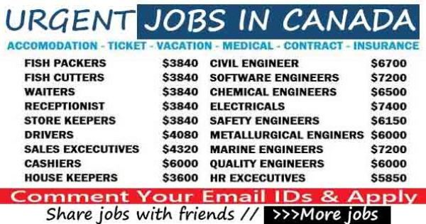 Apply For 8000+ Careers Opportunities in Canada