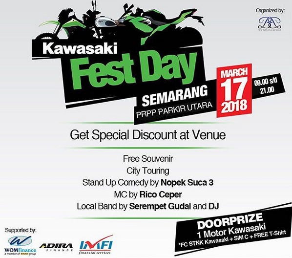 KAWASAKI FEST DAY SEMARANG 17 MARET 2018