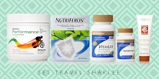 Vitamin Untuk Bawa Pergi Bercuti - Set Travel Shaklee, Set Haji Shaklee