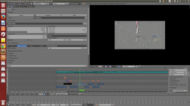 Blender VSE Screenshot