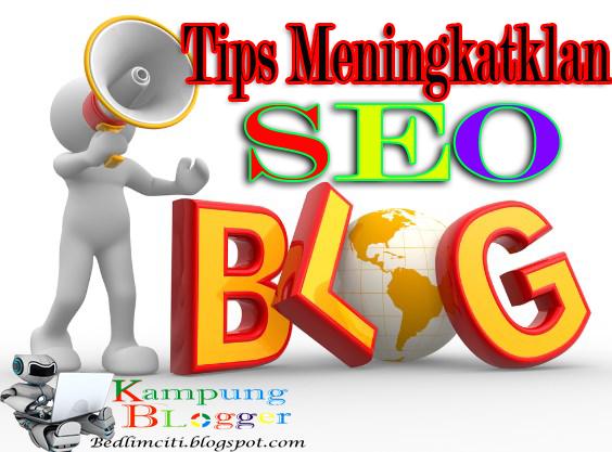 Trik Seo Blogger