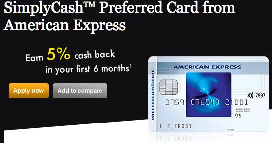 Best Rewards Credit Card Canada 2017 >> Rewards Canada: American Express SimplyCash Preferred Credit Card now earns a straight 2% ...