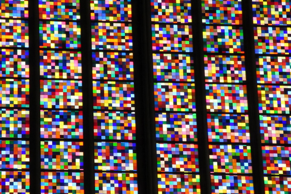 Cologne Cathedral stained glass windows - UK travel & lifestyle blog