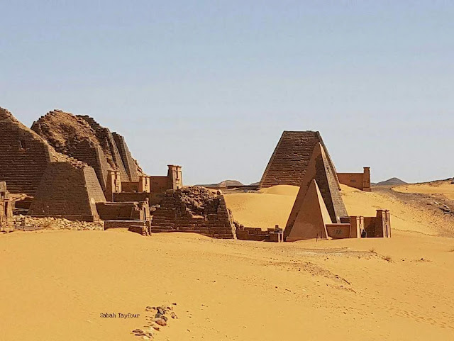 اهرامات البجراوية شمال السودان