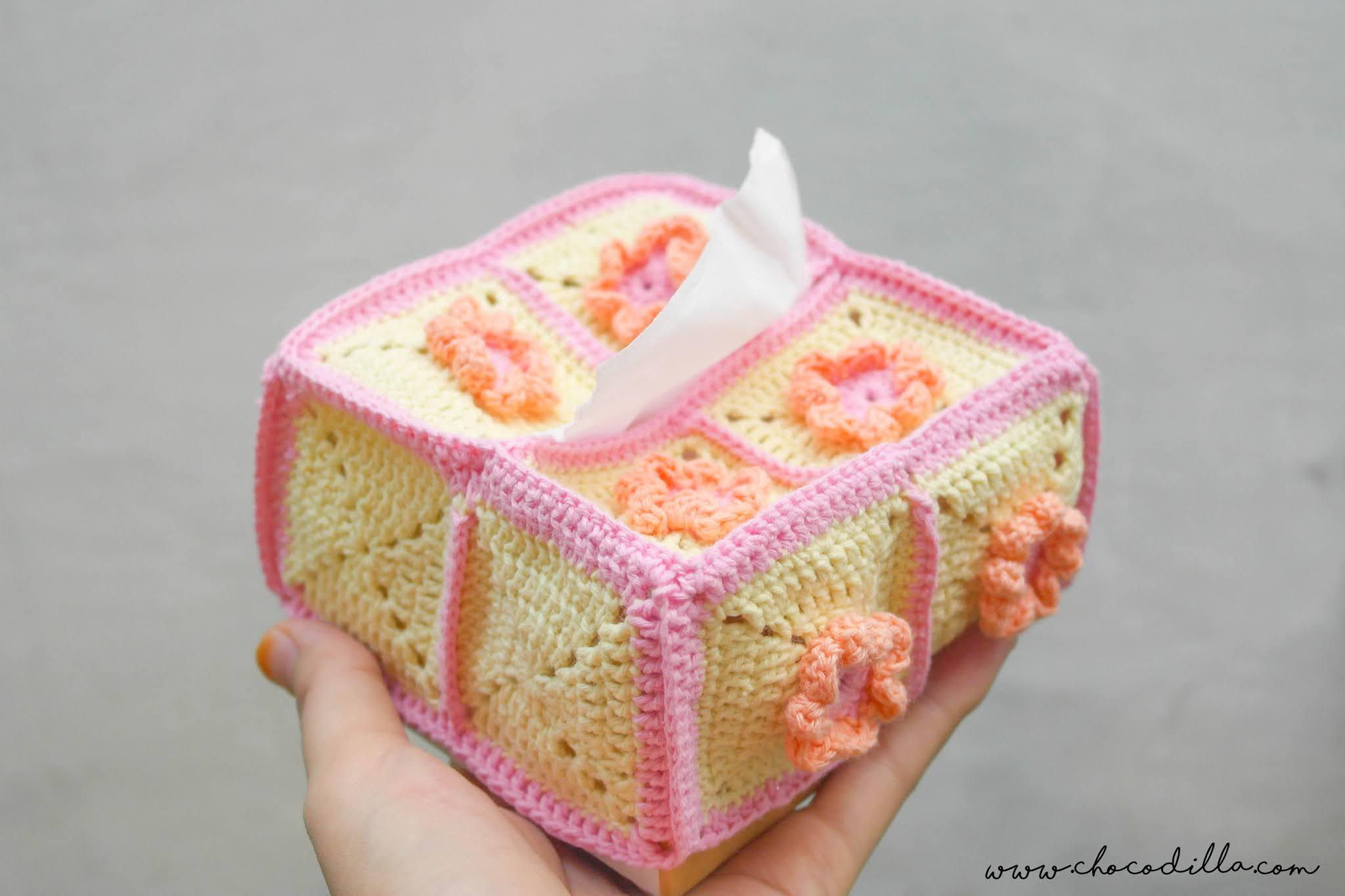 Crochet Tissue Box