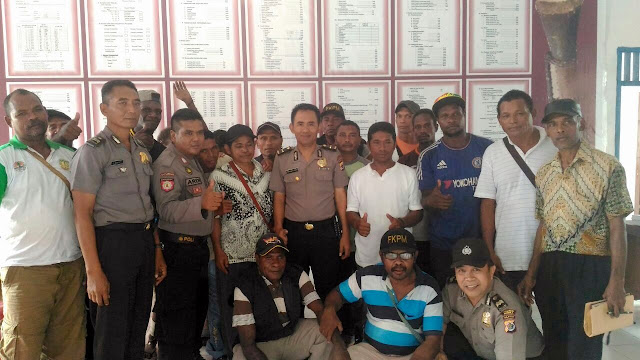 Polsek Miru Sosialisasi FKPM di Nawaripi