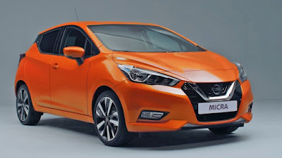 Nissan Micra 2017 left side front three qauter