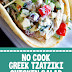 No Cook Greek Tzatziki Chicken Salad #nocook #tzatziki