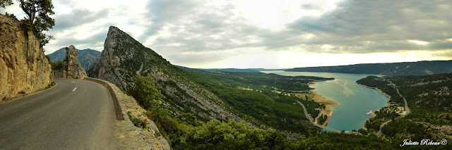 Lac de Sainte-Croix dans les Gorges du Verdon
